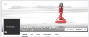 Pixelfleet bei Facebook